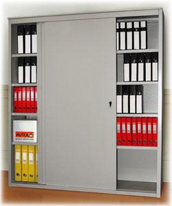 Металлический шкаф-купе архивный AL