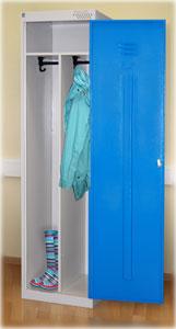Металлический шкаф для одежды ШРЭК 22-500