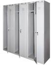 Металлические шкафы для одежды модульные ШРС